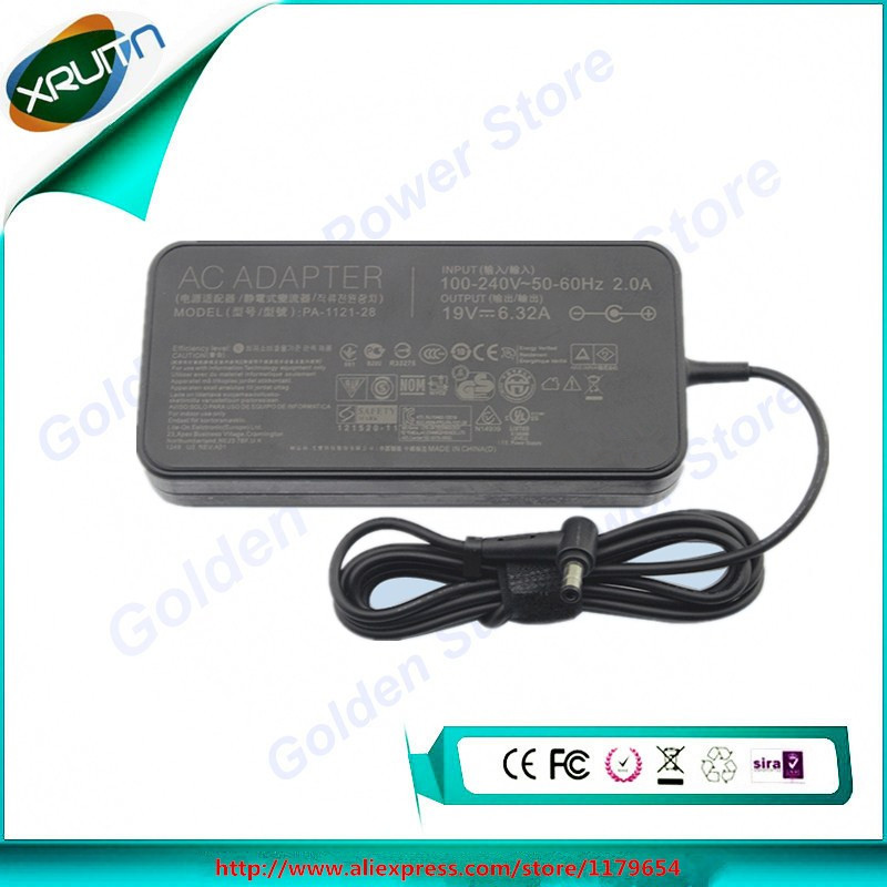 ASUS 19V 6.32A 120W Original AC laptop adapter Charger PA-1121-28 N550JV-DB72T