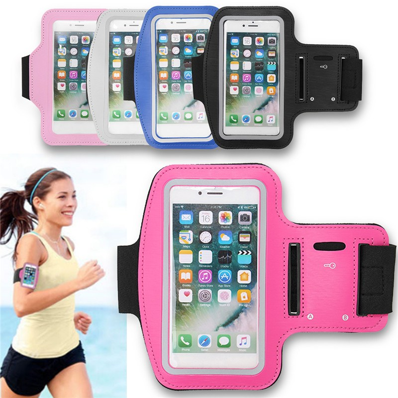 New Best Running Riding Bags Armband Bag 5 Colors Man woman Case Cover Holder Pouch armband Jogging bag for iPhone 7