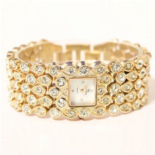 New Hot-selling Watch High-End Chain Full Rhinestone Mother-Of-Pearl Pearl Female