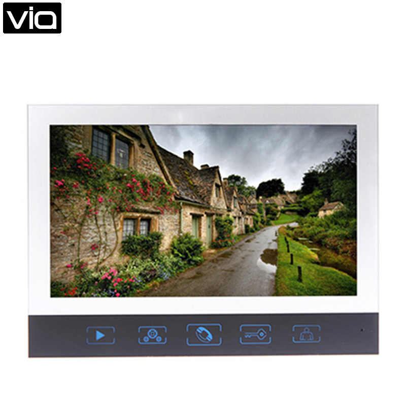 цена на ACTOP VDP320 Direct Factory 7 Inch Touch Screen Monitor Visual Intercom VideoPhone Night Vision Doorbell Taking Photo Function