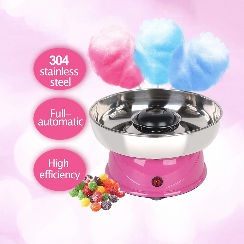 ITOP Electric DIY Sweet cotton candy maker machine MINI portable cotton sugar floss girl boy gift children's day 110V 220V EU US