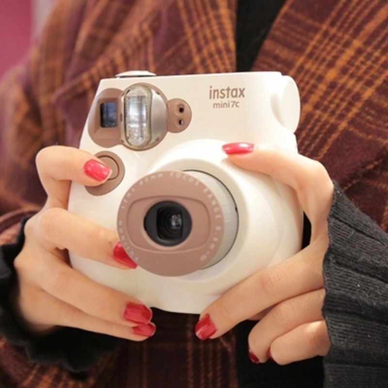 Bộ Máy Chụp Ảnh Lấy Ngay Fujifilm Instax Mini 7C 7S Ngay Bộ Phim Ảnh Máy