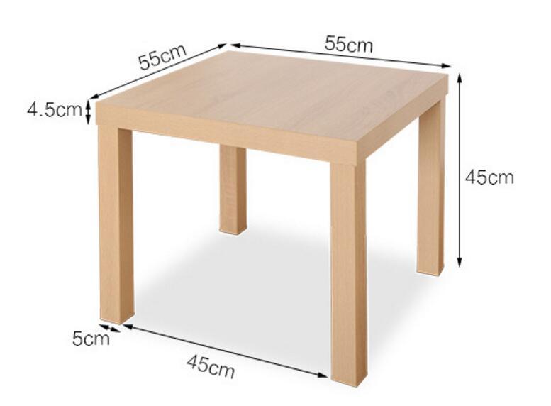 55*55 см простой многоцелевой Кофе Таблица Чай Таблица тумбочки