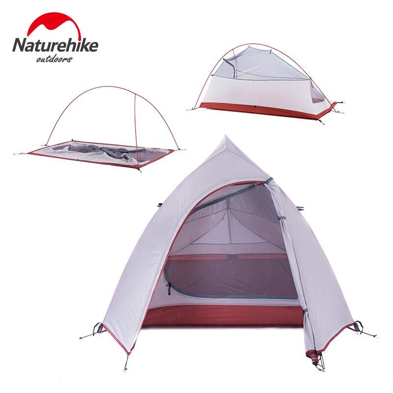 Naturehike Cloud Up Series 1 2 3 Person Camping Tent Outdoor Ultralight Camp Equipment Gear 2