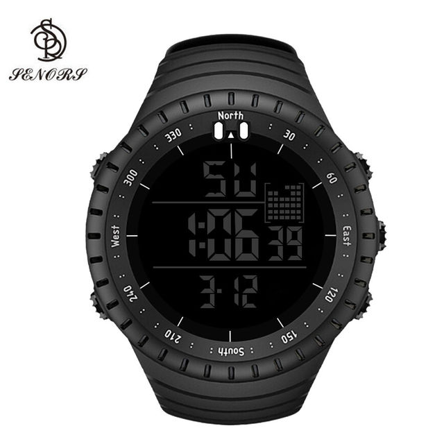 Ladies Women&Men's Digital Sport Watches Electronic LED Fashion Waterproof Outdo