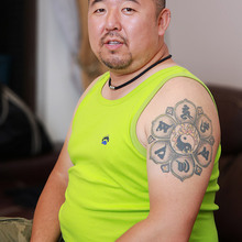 Bear Claw Paw Men's Plus Size Tank Tops Cotton Undershirt Ga