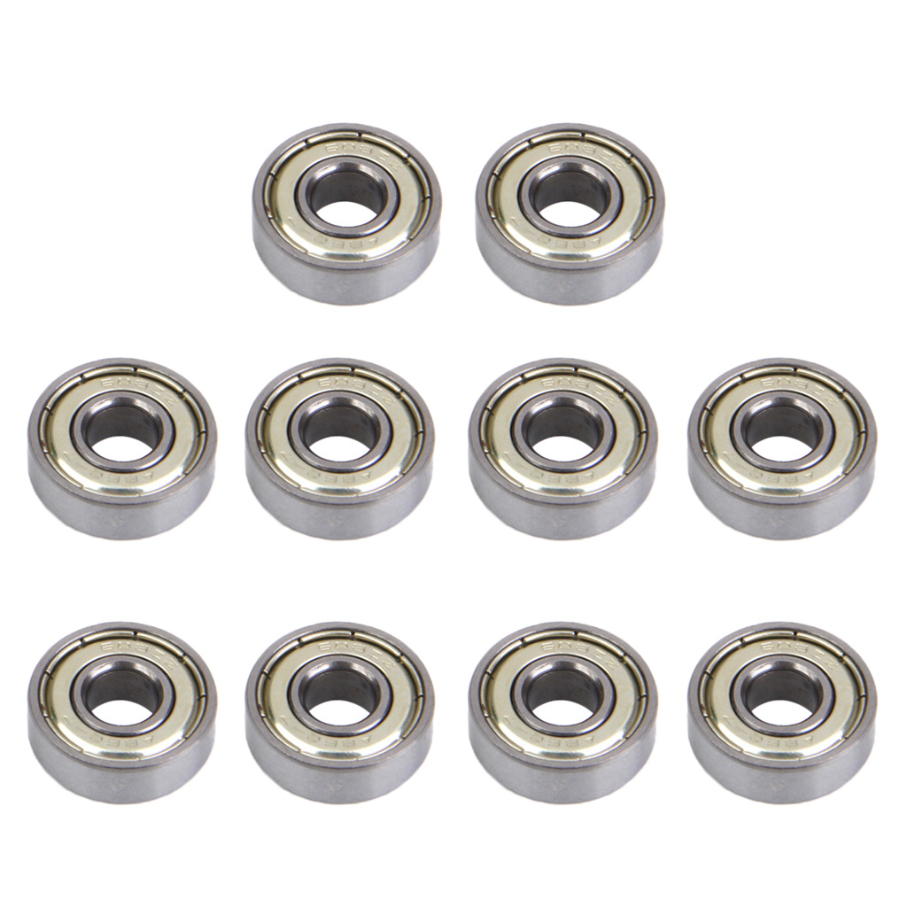 10pcs Replacement SKATEBOARD BEARINGS 608 Zz (ABEC-7)- Double Shielded Roller Skating Roller Skate Bearing