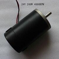 24 V dc motor permanent magnet high drehmoment 78ZY 200 Watt 4000 RPM Für automatische fütterung maschine als wind power generator