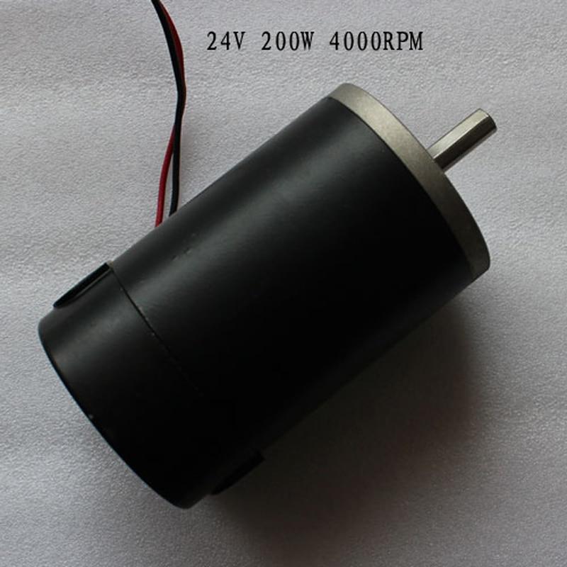 24v dc motor permanent magnet high torque 78zy 200w for Surplus permanent magnet dc motors