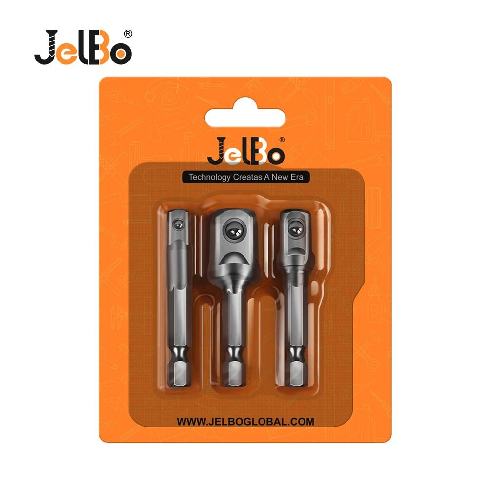 JelBo Drill Socket Adapter Set Tools Drill Bits Socket Wrench - Foret - Photo 6