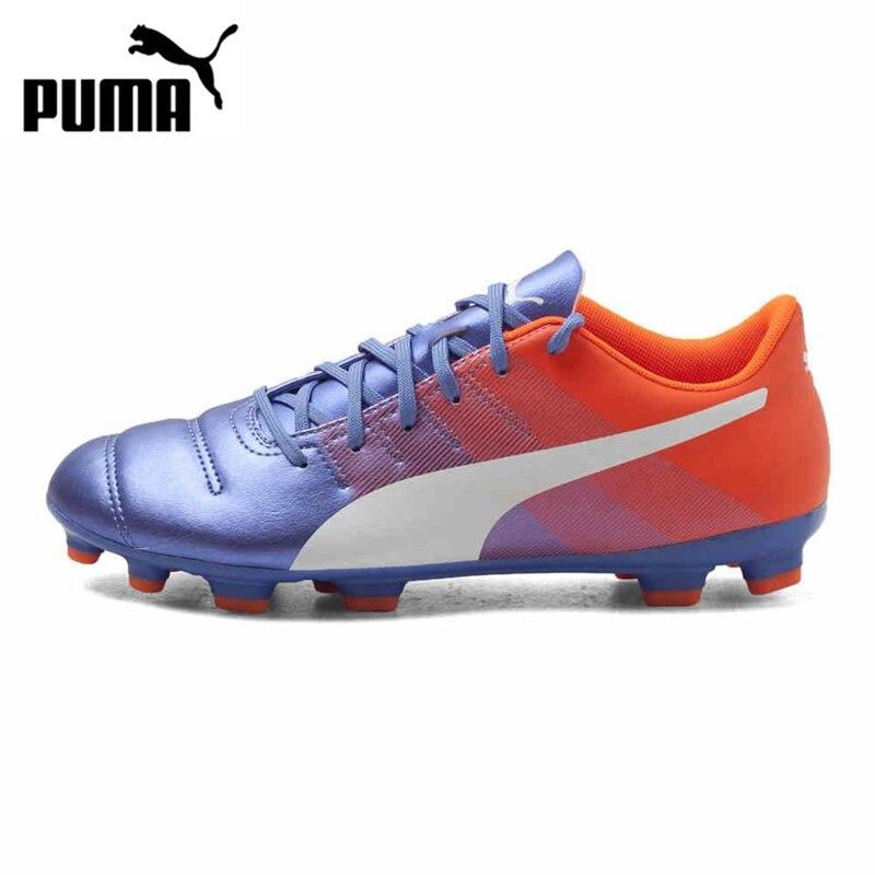 ФОТО Original PUMA EVO POWER4.3AG Men's Soccer Shoes Football Sneakers