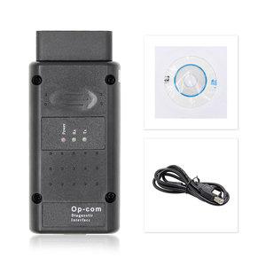 Image 5 - For Opel OP COM V1.95/V1.70 2014V PIC18F458 FTDI FT232RQ Be Flash Update OBDII OBD2 Diagnostic Scanner Cable Op com OPCOM V1.99