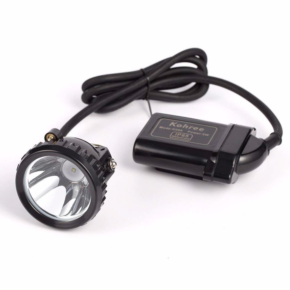 Kohree KL6LM 5W LED Hunting Headlamp Car Charger Waterproof Rechargeable Headlight for Miner Camping Fishing Explosion-proofKohree KL6LM 5W LED Hunting Headlamp Car Charger Waterproof Rechargeable Headlight for Miner Camping Fishing Explosion-proof