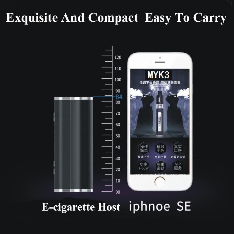 FERSHA electronic cigarette 80W LED display Vape mod kit box 2200 MAH battery 2ml oil storage atomizer Power adjustable