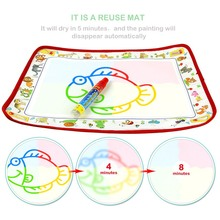 Magic Water Drawing Canvas Blanket Coloring Board Doodle Magic Pen Painting Cloth Children Novelty Education Drawing Toy