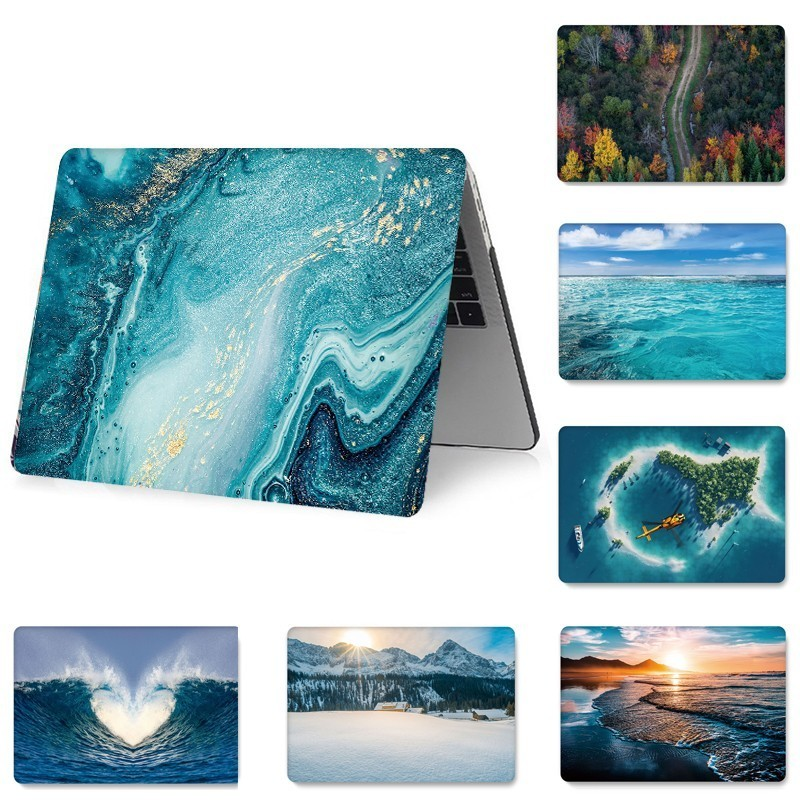 Fashion Laptop Print Case for Macbook 2018Air 13 Touch 15 13 Pro 13 15 Air 11 13 Computer Bag A1708 A1990 A1989 Hard PVC Cover in Laptop Bags Cases from Computer Office