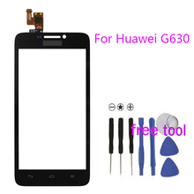 Smartphone Pour Huawei G630 écran Tactile Digitizer Assemblée Remplacement Mobile Téléphone Avant Tactile Panneau Verre Capteur Fenêtre