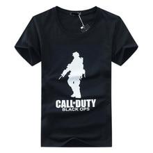 Summer T Shirt 2018 New Men Printed US soldier T-shirt Man Cotton t-shirt Short Sleeve Army Green T-shirt Fashion Tees 4XL 5XL(China)