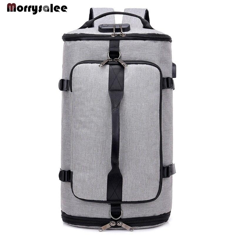 2020 Large Capacity Rucksack Man Travel Bag Mountaineering Backpack Male Luggage Boys Canvas Bucket Shoulder Bags Men Backpacks