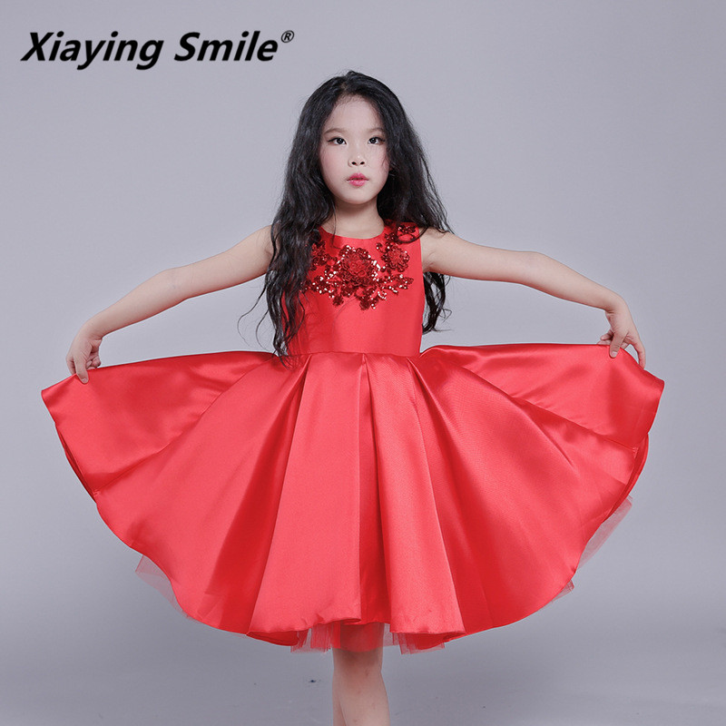Xiaying Smile Girls Dress Summer Autumn Kid Children Princess Dress Mesh Floral Casual Comfortable Children Clothing EmbroideryXiaying Smile Girls Dress Summer Autumn Kid Children Princess Dress Mesh Floral Casual Comfortable Children Clothing Embroidery