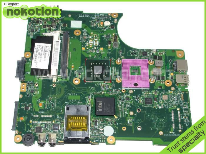 NOKOTION V000138460 for Toshiba Satellite L300 L305 laptop Motherboard Mainboard full tested nokotion for toshiba satellite c850d c855d laptop motherboard hd 7520g ddr3 mainboard 1310a2492002 sps v000275280