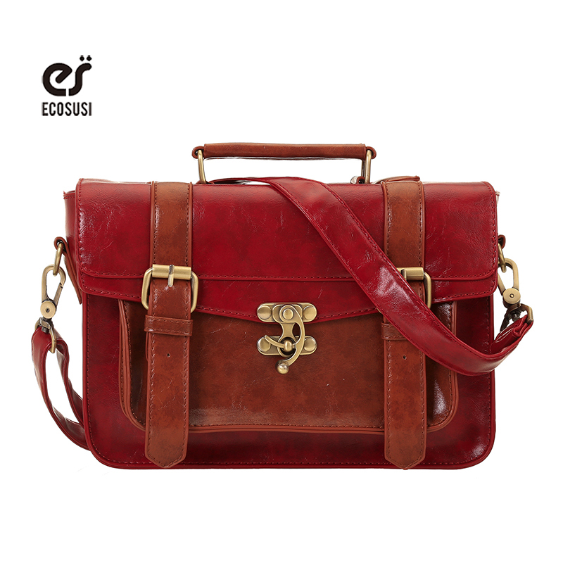 Online Get Cheap Leather Satchel School Bag -Aliexpress.com ...