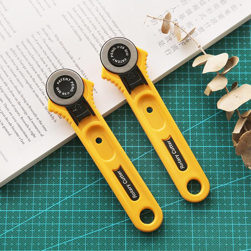 Cutting Round Knife 28mm Cloth Collage Wheel Knife Tool Handmade Home Office Tools Paper Cutting Knives