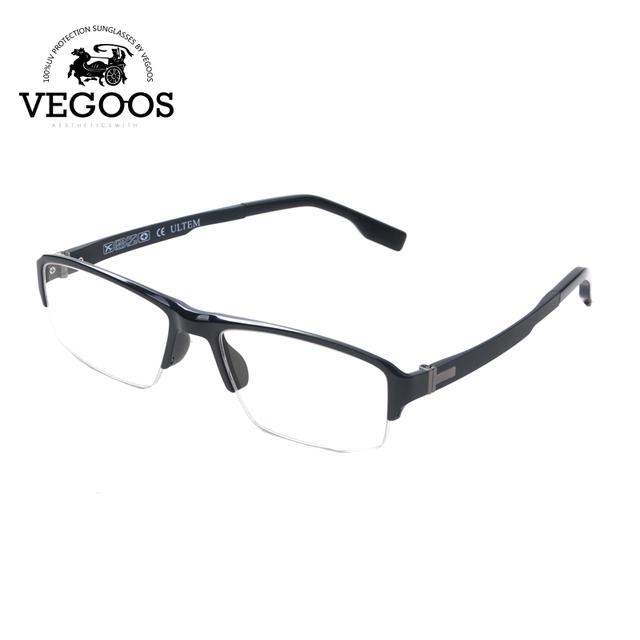 VEGOOS Quadros de Liga De Titânio De Tungstênio Praça computador óculos de leitura armações miopia óculos óculos Armações de marca designer #5015