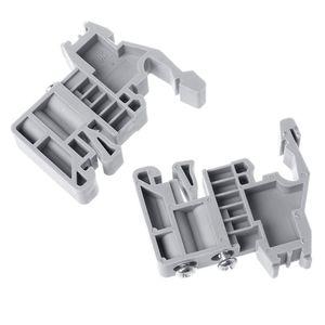 Image 3 - 50 adet UKK3 DIN ray çift seviye çift sıralı Terminal bloğu 500V 25A 28 12AWG gri