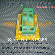 DIP40 Adapter HI-LO GANG-08 Programmer HEAD-MPU51A Adapter/IC SOCKET