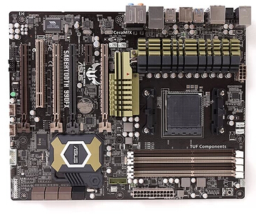 TUF SABERTOOTH 990FX Socket AM3+ DDR3 32GB 990FX motherboard support <font><b>FX8350</b></font> used 90%new image