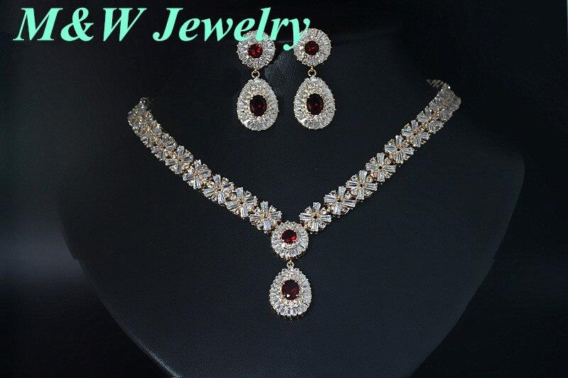 Премиум ручной Медь комплект Цепочки и ожерелья Серьги AAA + Цирконий Ювелирные наборы и прочее для Для женщин свадебные с высокое качество