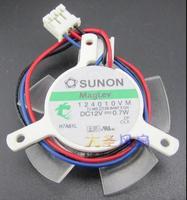 SUNON 124010VM DC 12V 0 7W MSI 29 30 31mm 3 Line Graphics Card Cooling Fan
