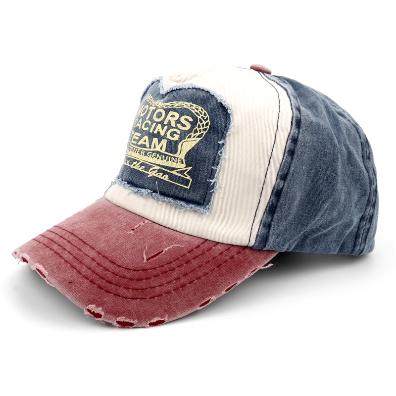 Spring Cotton Cap Baseball Cap Snapback Hat Summer Cap Hip Hop Fitted Cap for Men Women Red