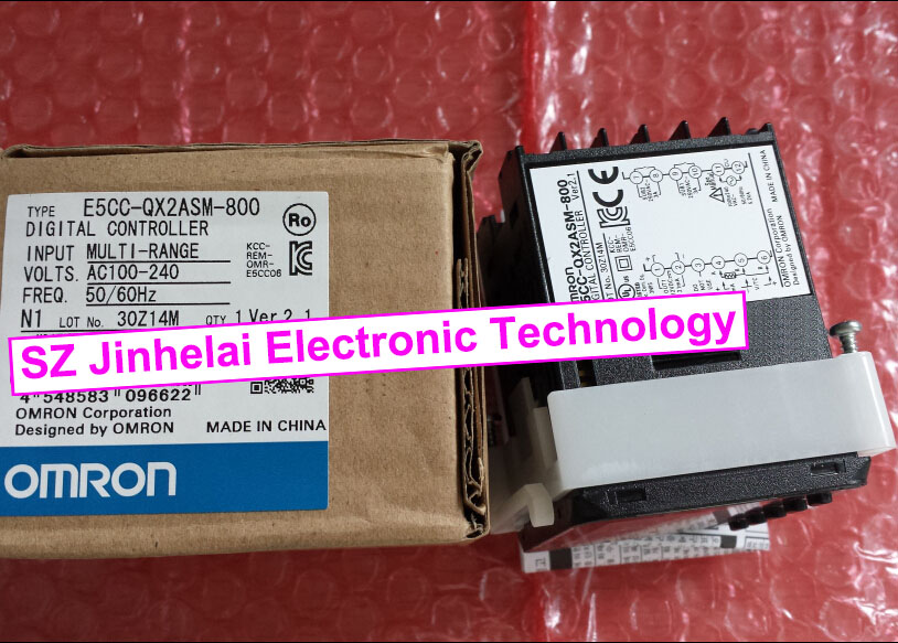 New and original E5CC-QX2ASM-800 OMRON  DIGITAL CONTROLLER  (alternative  E5CZ-Q2MT) new and original e3x da11 s omron optical fiber amplifier photoelectric switch 12 24vdc