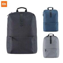 9da08bf2c0 100% Original Xiaomi mode école sac à dos 600D Polyester Durable  imperméable costume pour 15.6 pouces ordinateur portable