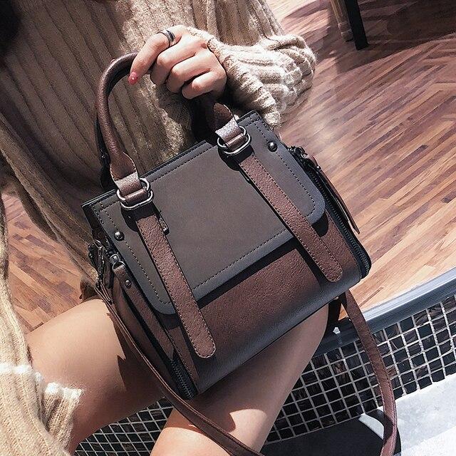 LEFTSIDE Vintage nuove borse per donna 2021 borsa in pelle di marca femminile borse piccole di alta qualità borse a tracolla da donna Casual