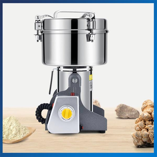 220V Multifunction Swing Type Food Crusher 2500G Portable Household Corn Milling Machine