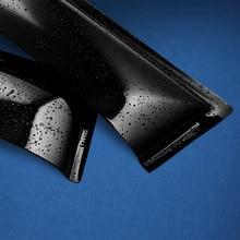 Дефлекторы окон, 4 шт., for HYUNDAI Creta 2016- кроссовер, накладной, скотч 3М