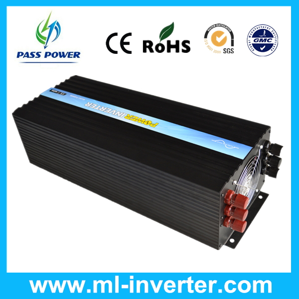CE&RoHS standards dc 48v to ac 220v 230v 8000w/8kw pure sine wave solar inverter with wireless remote,one year warranty!
