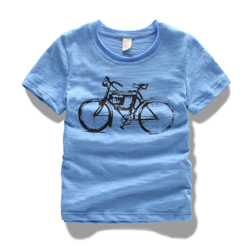 3-15y summer boys t-shirts brand 100% cotton soft children tshirt short sleeve o-neck breathable casual print kids clothes tees