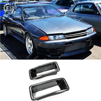 Para nissan skyline r32 kit corpo de entrada ar fibra vidro estilo do carro tuning parte para gtr r32 gtr fibra vidro nismo n1 pára aberturas|Kit de carroceria| |  -