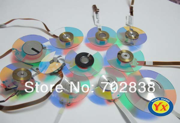 Original Projector Color Wheel for Optoma EW400 Projectors projector color wheel for optoma x303 free shipping