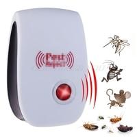 Elektronik ultrasonik Anti sivrisinek böcek fare haşere kovucu kovucu ab tak Drop Shipping