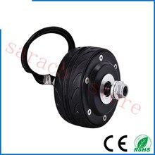 4″ 150W 36v double shaft electric wheel hub motor ,electric scooter motor , electric motor for scooter