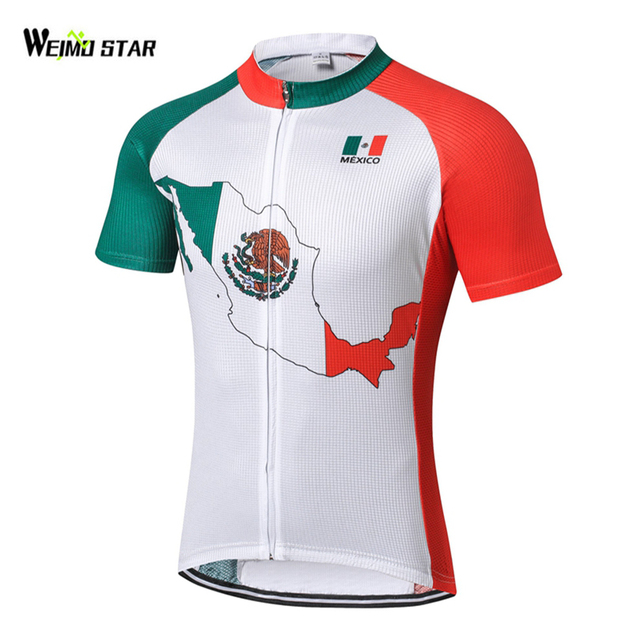 e49032624 Weimostar Country Cycling Jersey men mtb Team Bike jersey Shirts Cycling  short sleeve pro Maillot roupa Ciclismo Clothing