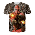 2016 Hot Deadpool 3d Men's T Shirt Graphic Character Print Women Fashion T-shirt Compression Anime Deadpool T Shirt Homme