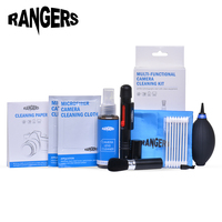 Rangers 9 In 1 Professional Cleaning Set With 2oz Non Toxic Alcohol Free Cleaning Solution For