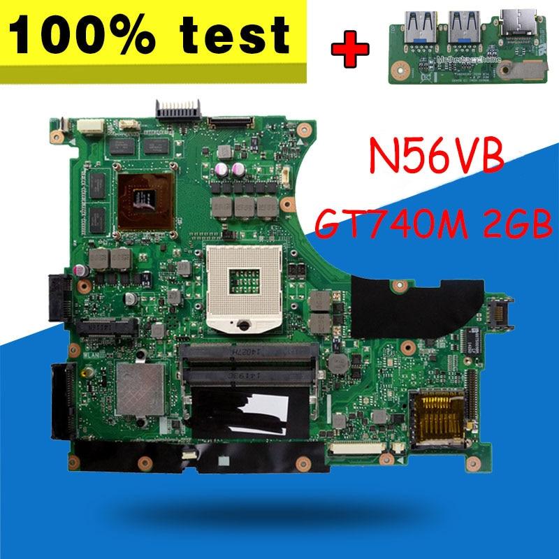 send board+GT740M 2GB N56VB Motherboard RAM For ASUS N56VM N56V N56VV Laptop motherboard N56VB Mainboard N56VB Motherboard n56vb motherboard gt740m 4gb ram for asus n56vm n56v n56vv laptop motherboard n56vb mainboard n56vb motherboard test 100% ok