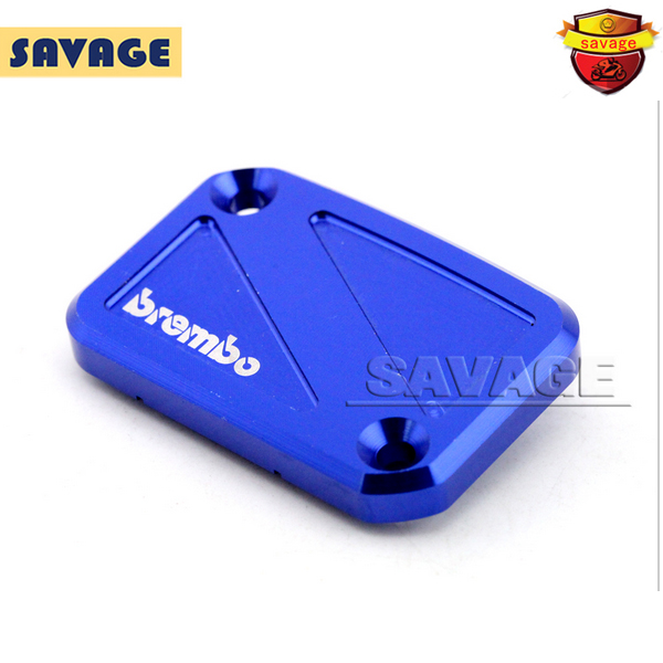 For YAMAHA YZF R125 YZF-R125 2012-2013 Blue Motorcycle Front Brake Master Cylinder Reservoir Cover Cap